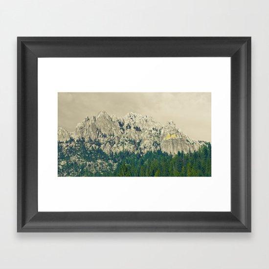 Castle Crags - California Framed Art Print