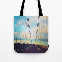 Changing Lanes Tote Bag