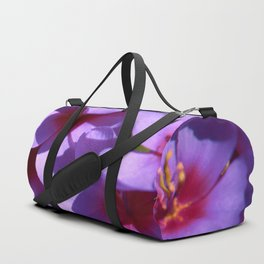 lilac flowers Duffle Bag