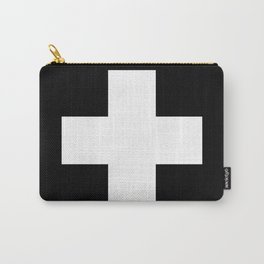 White Swiss Cross Carry-All Pouch