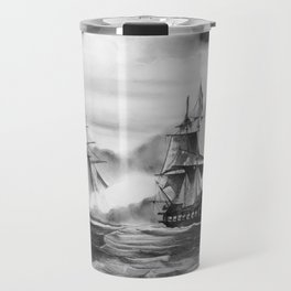 Pirates battle Travel Mug