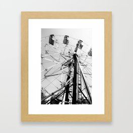 take me for a ride Framed Art Print