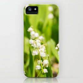 May Lily Blooming iPhone Case