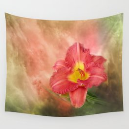 Beautiful day lily Wall Tapestry