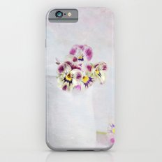 little pansies Slim Case iPhone 6s