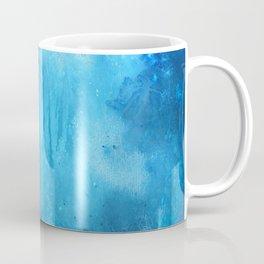 Ocean art, abstract ocean , Renewed Daily Coffee Mug
