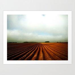 NRW Potatoe Fields Art Print