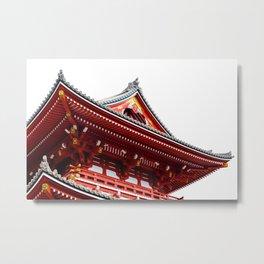 Temple Detail Metal Print