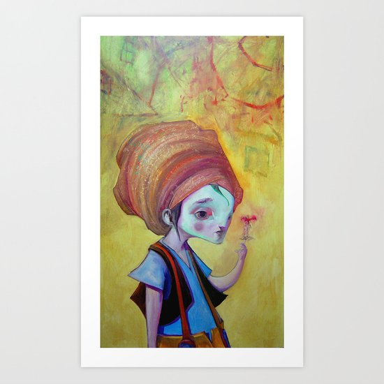 Flying Circus Art Print