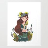 Lady Bird Art Print