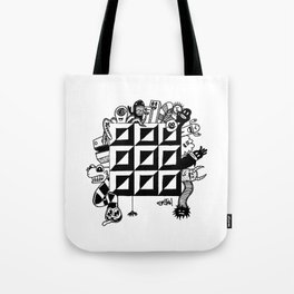Monster bunch Tote Bag