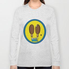 Icecream Smiley Long Sleeve T-shirt