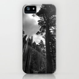 Mountain Sunbeams iPhone Case
