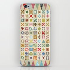Jane's Addiction to Quilting iPhone Skin