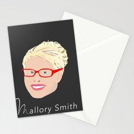 Mallory Smith Head Stationery Cards