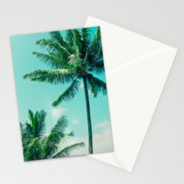 Keanae Tropical Summer Palm Trees Maui Hawaii Stationery Cards