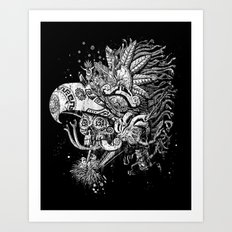 Eagle Warrior Art Print