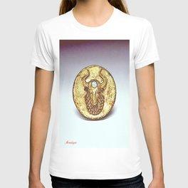 Third Eye Turquoise bull  T-shirt