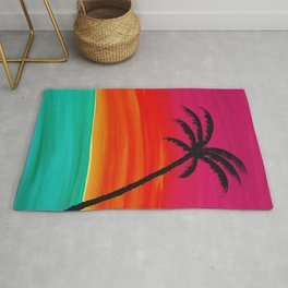 Sunset Palm 2 Rug