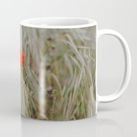 alone Mugs featuring Alone by Hello Twiggs