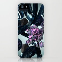 Gel and Stones iPhone Case