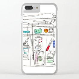 What's In Your Bag Clear iPhone Case