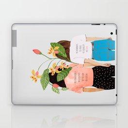 Motto #illustration #concept #painting Laptop & iPad Skin