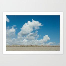 Cape Enrage Sky Art Print