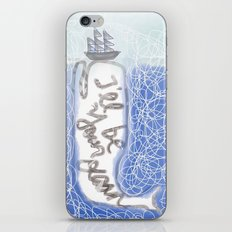 I'll be your ocean iPhone & iPod Skin