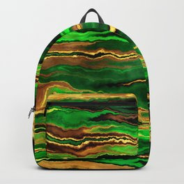 Gold & Emerald Backpack
