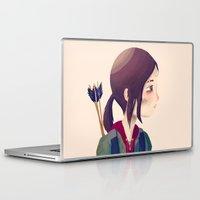 ellie goulding Laptop & iPad Skins featuring Ellie by Nan Lawson
