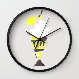 Ice Cream Sundae Wall Clock