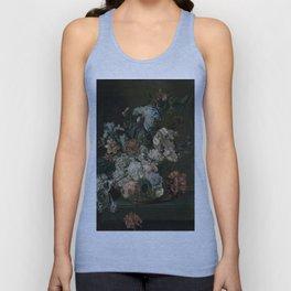 Cornelia Van Der Mijn - Still Life With Flowers Unisex Tank Top