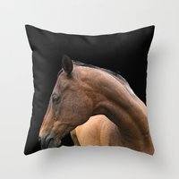danny ivan Throw Pillows featuring Danny by anipani