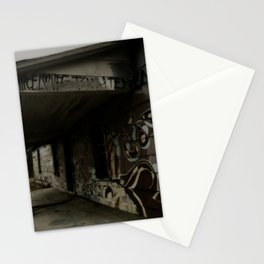 graffiti house Stationery Cards