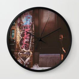 Soho Smoke Wall Clock