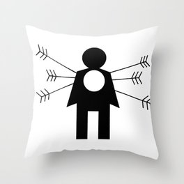 Kindness For Weakness Throw Pillow
