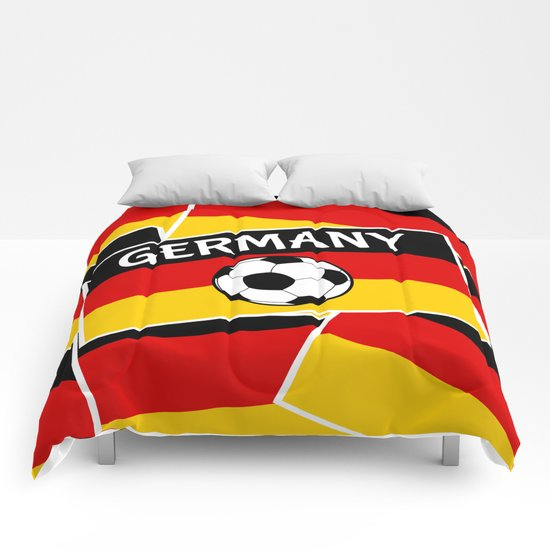 German Flag Football Comforters