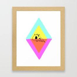 As Above So Below Framed Art Print