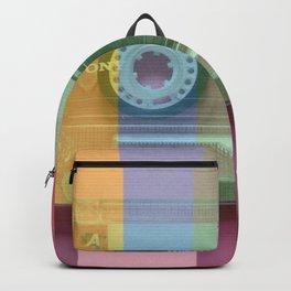 Cassette#tvcolor#VHS Backpack