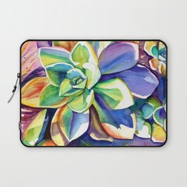 Sunny Day Succulents Laptop Sleeve