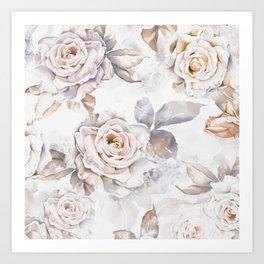 ROSES3 Art Print