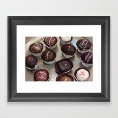 Truffles Framed Art Print