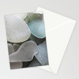 Beach Glass Stationery Cards