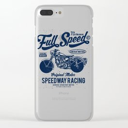 Full Speed Clear iPhone Case