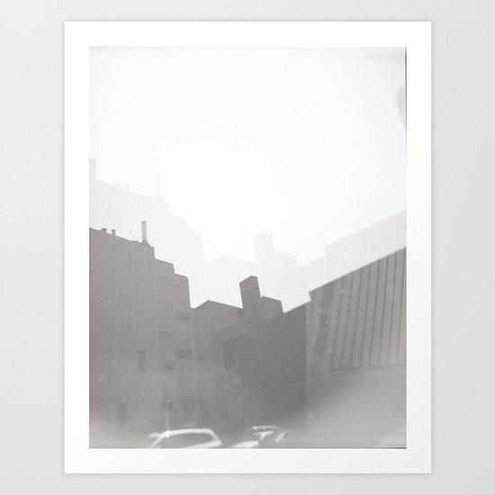 Trippy Building Art Print