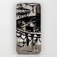 architect iPhone & iPod Skins featuring Architect Invader by Paul Prinzip