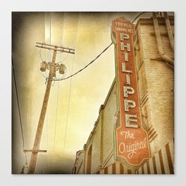Phillipe's French Dip - Los Angeles, CA Canvas Print