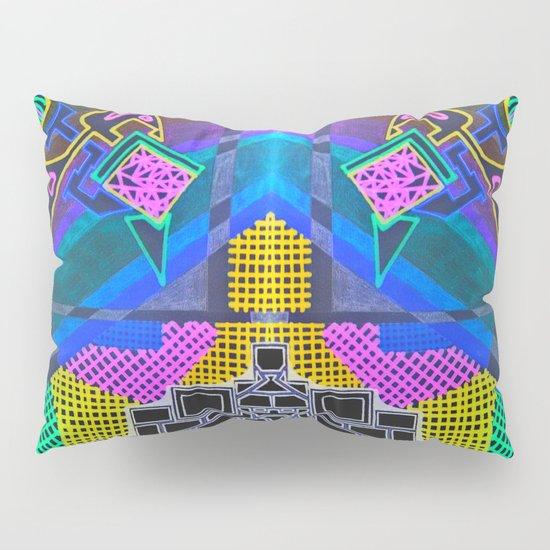 Abstract 2B Pillow Sham