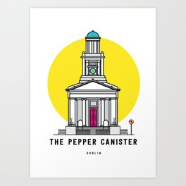 The Pepper Canister Church Dublin Art Print